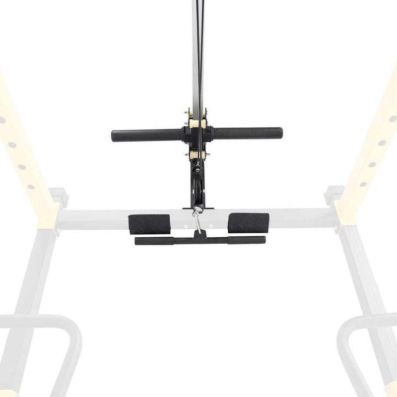 HulkFit Lat Pull Down and Low Row Bar Attachment