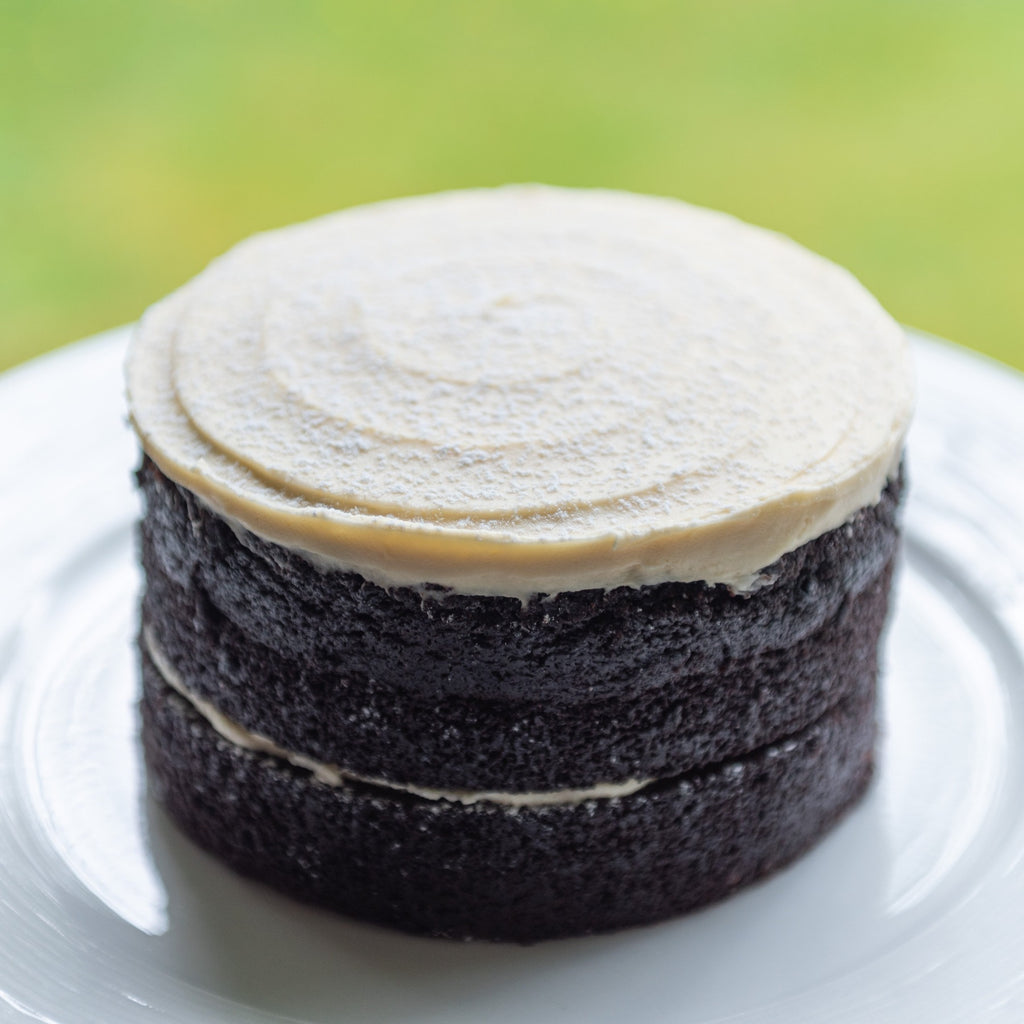 DARK CHOCOLATE GUINNESS & BAILEYS CAKE