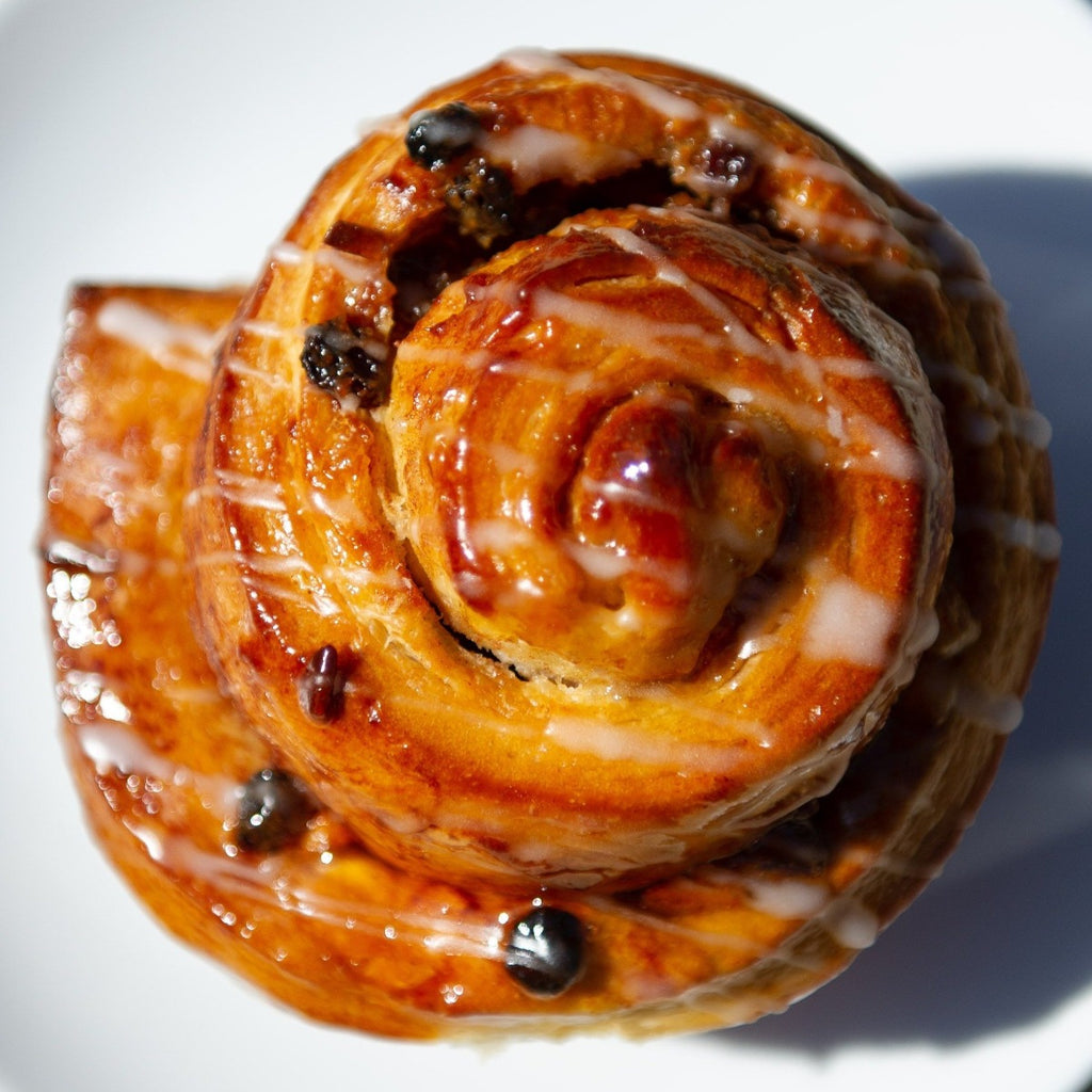 Fruit and Nut Sticky Bun