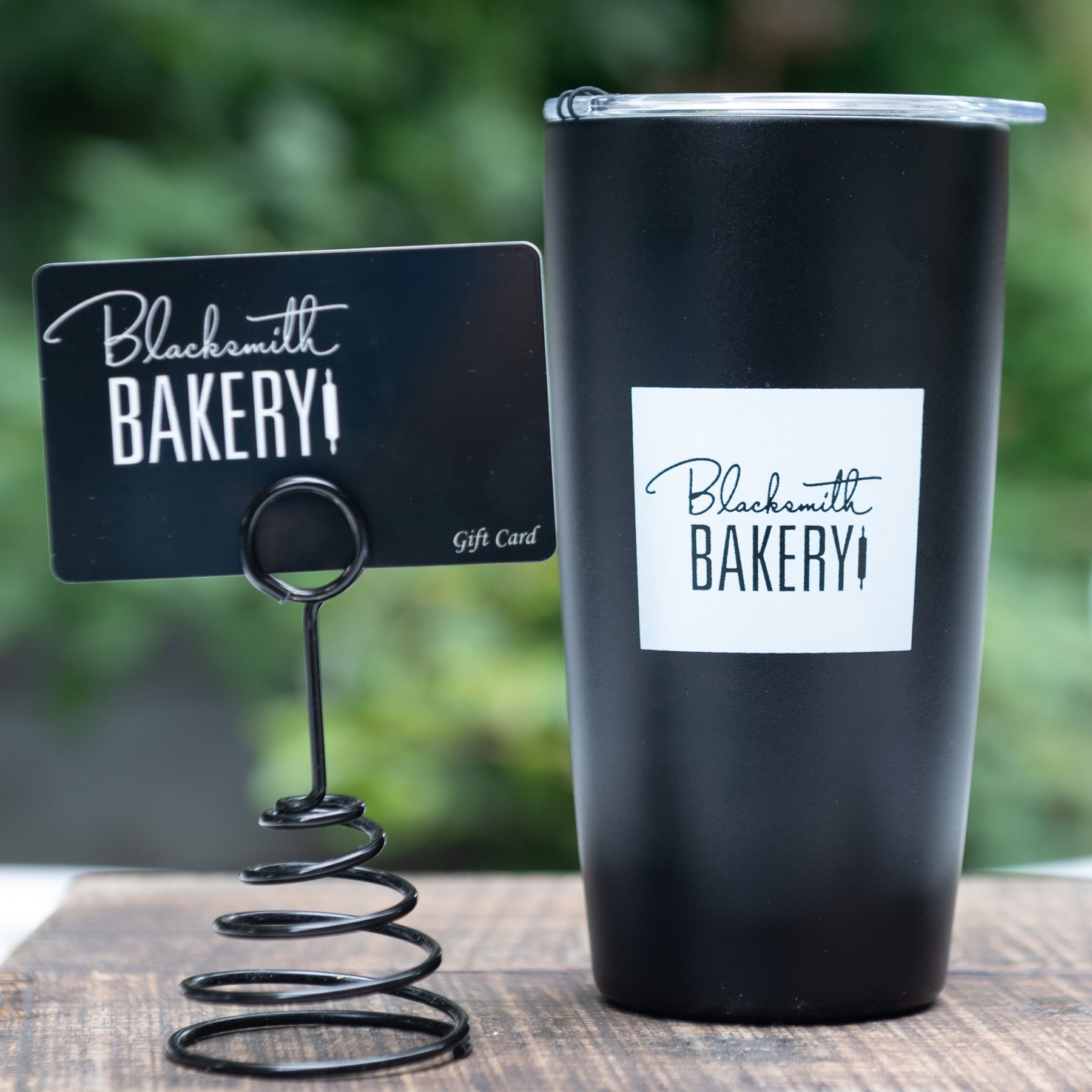 16oz Branded Tumbler & $25 Gift Card - Gift Set