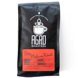 Agro Roasters Organic Peru Medium Roast Coffee