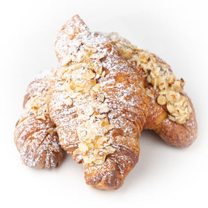 Double Baked Hazelnut Croissants - Take & Bake