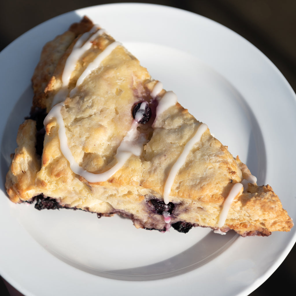 Gluten-Free Blueberry Lemon Scone