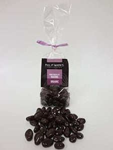 Dark Chocolate Raisins - Organic