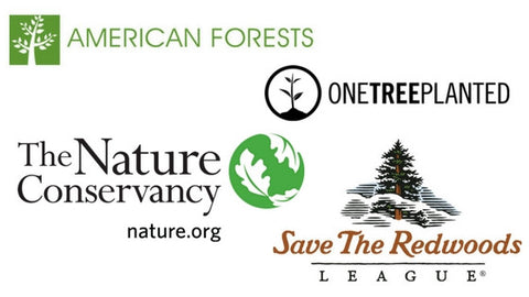 american forests, one tree planted, the nature conservancy, save the redwoods