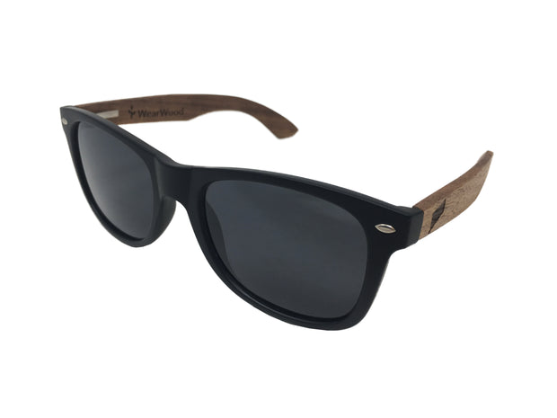 State of Connecticut Classic Black Walnut Sunglasses