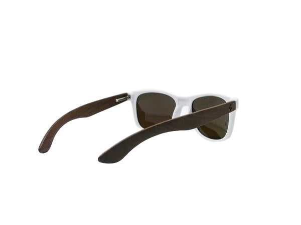Frosted Blue Walnut Sunglasses