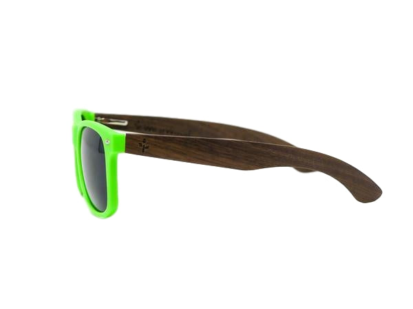 Green Walnut Sunglasses