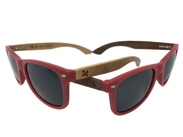 Red Bamboo & Red Walnut Sunglasses Bundle