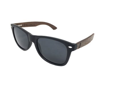 State of Indiana Classic Black Walnut Sunglasses