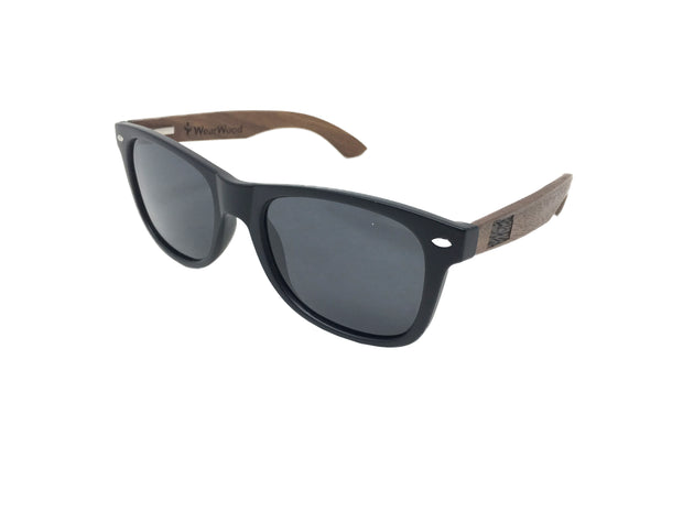 State of Kansas Classic Walnut Sunglasses