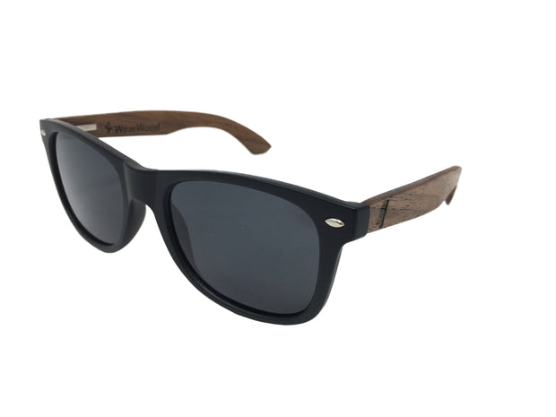 State of Mississippi Classic Black Walnut Sunglasses