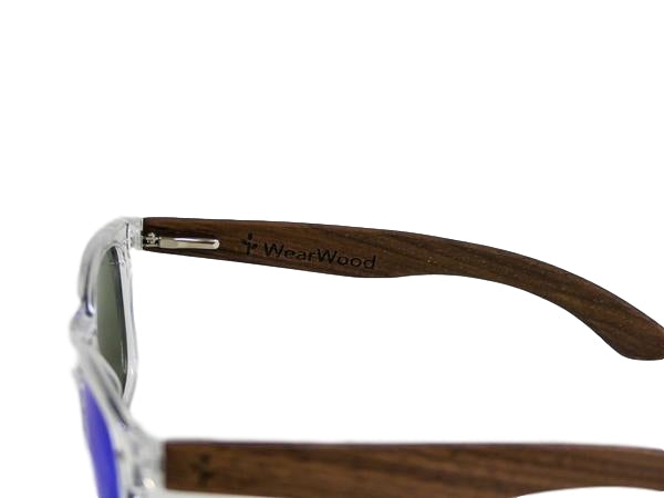 Mountain Blue Walnut Sunglasses