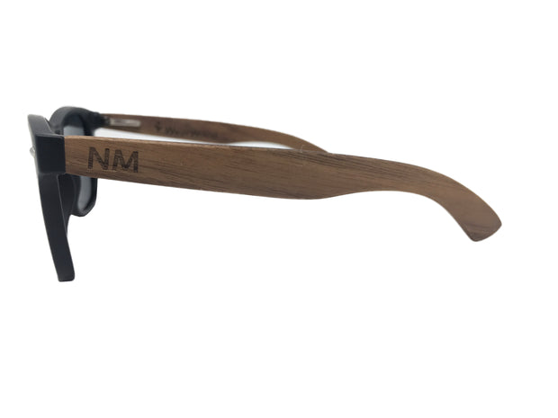 State of New Mexico Classic Black Walnut Sunglasses