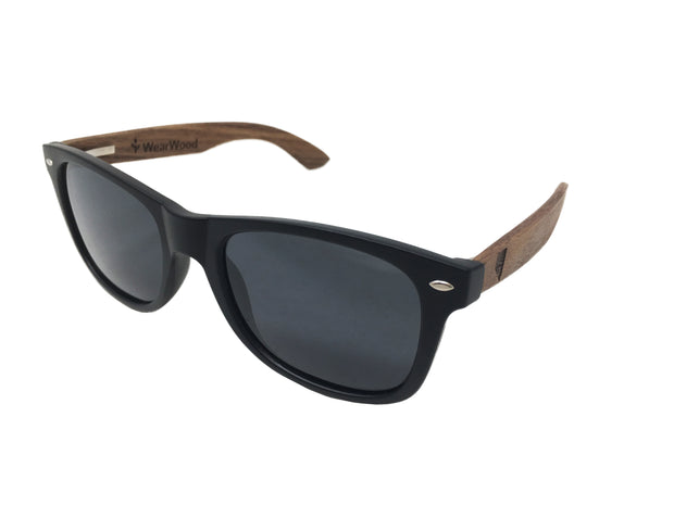 State of Nevada Classic Black Walnut Sunglasses