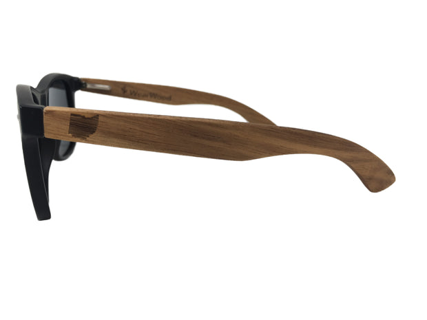 State of Ohio Classic Black Walnut Sunglasses