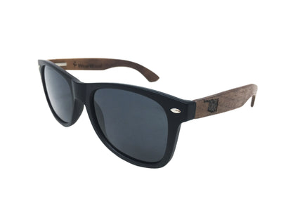 State of Oklahoma Walnut Sunglasses