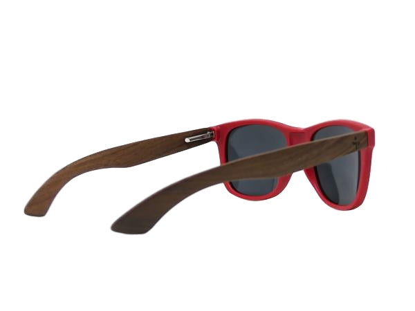 Matte Red Walnut Sunglasses