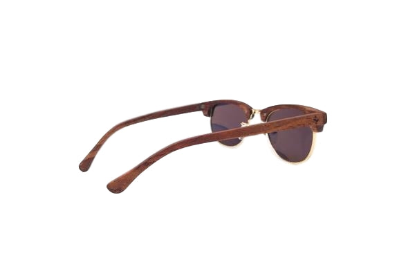 Yellow Rosewood Sunglasses