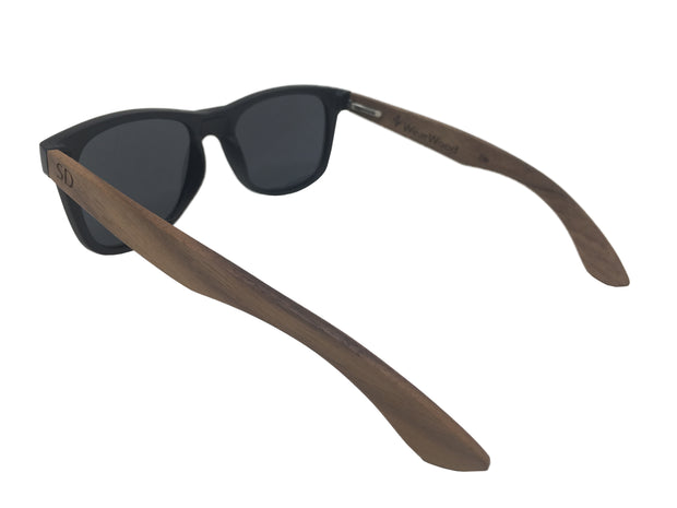 State of South Dakota Walnut Sunglasses