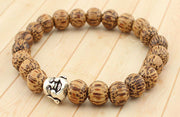 Bamboo Laughing Buddha Bracelet - WearWood - 2