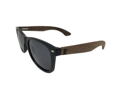 State of Minnesota Classic Black Walnut Sunglasses
