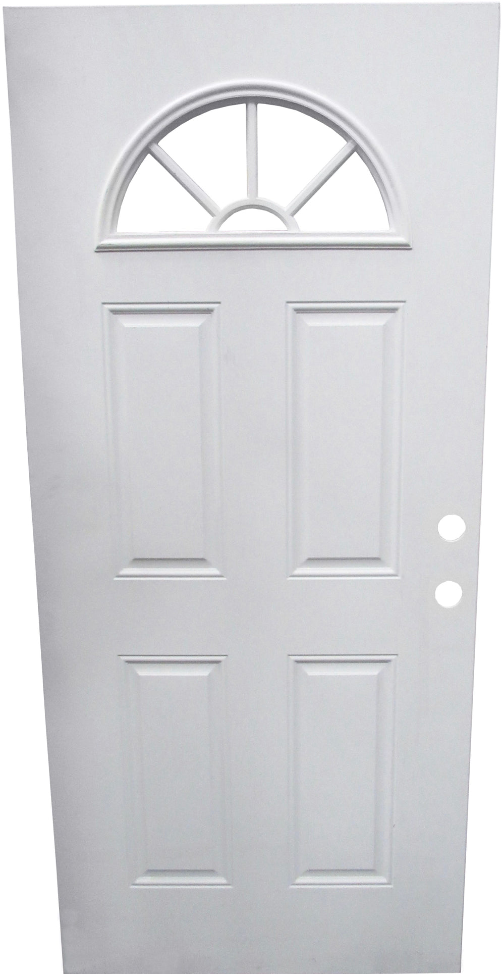 STEEL DOOR - 5 LITE SUNBURST (SALE)