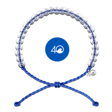 Load image into Gallery viewer, The 4ocean Classic Bracelet Blue- 4 Ocean