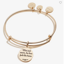 Load image into Gallery viewer, Alex and Ani Gold Grandma 'Wise and Warm' Bracelet
