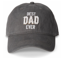 Load image into Gallery viewer, Best Dad Ever Adjustable Ball Cap