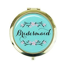 Load image into Gallery viewer, Bridesmaid Compact Mirror