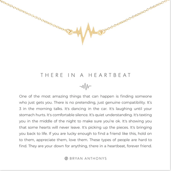 Bryan Anthonys There in a Heartbeat Necklace