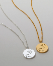Load image into Gallery viewer, Bryan Anthonys To the Moon and Back Necklace- Silver or Gold