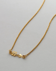 Bryan Anthonys HERoic Dainty Arrow Gold Necklace