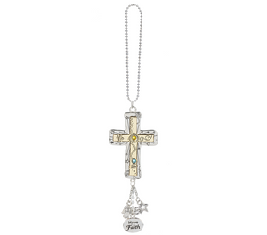 Car Charm- Cross