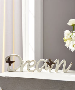 Dream desk sign