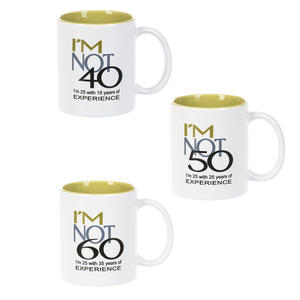 Over the Hill Birthday Mugs