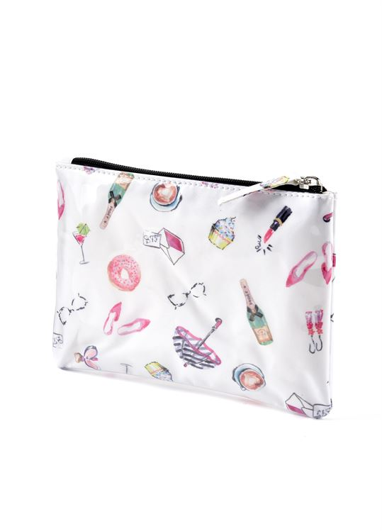 Fashion girl travel pouch