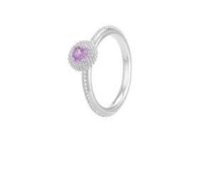 Chamilia Sterling Silver February Birthstone Ring