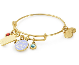 Alex and Ani Friends Collection Couch & Pivot Gold Cluster Bangle