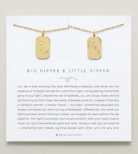 Load image into Gallery viewer, Bryan Anthonys Big Dipper Little Dipper Necklace Set