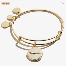 Load image into Gallery viewer, Alex and Ani Godmother 'My Guardian Angel' Bracelet in Silver or Gold