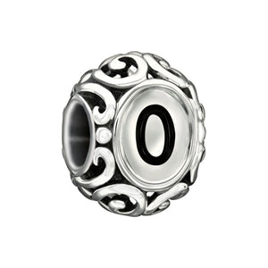 "CHAMILIA Initially Speaking ""O"" Charm 50% off!"