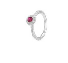 Load image into Gallery viewer, Chamilia Sterling Silver January Birthstone Ring Size 6