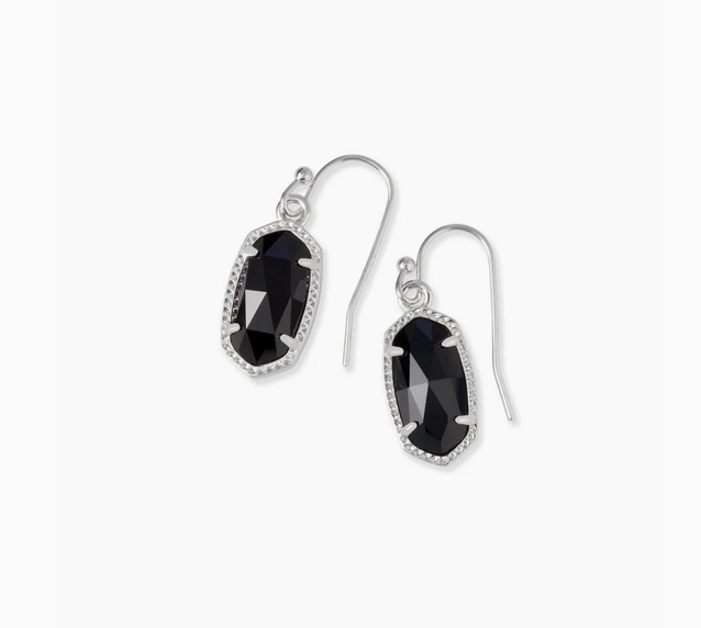 Kendra Scott Lee Earring in Black Onyx