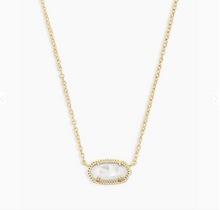 Load image into Gallery viewer, Kendra Scott Gold Elisa in Ivory Mother of Pearl