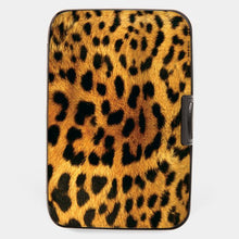 Load image into Gallery viewer, Leopard Scan Protection Armored Wallet