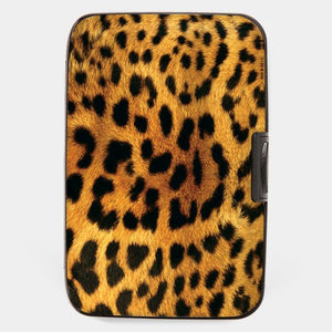 Leopard Scan Protection Armored Wallet