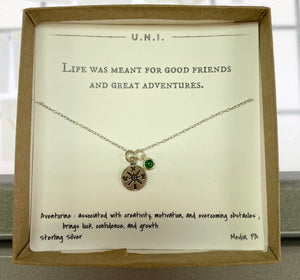 Life was Meant for Good Friends Necklace