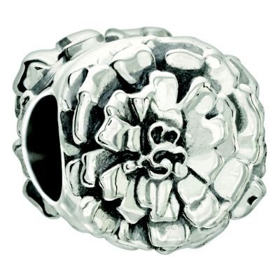 CHAMILIA October Marigold Charm sterling silver
